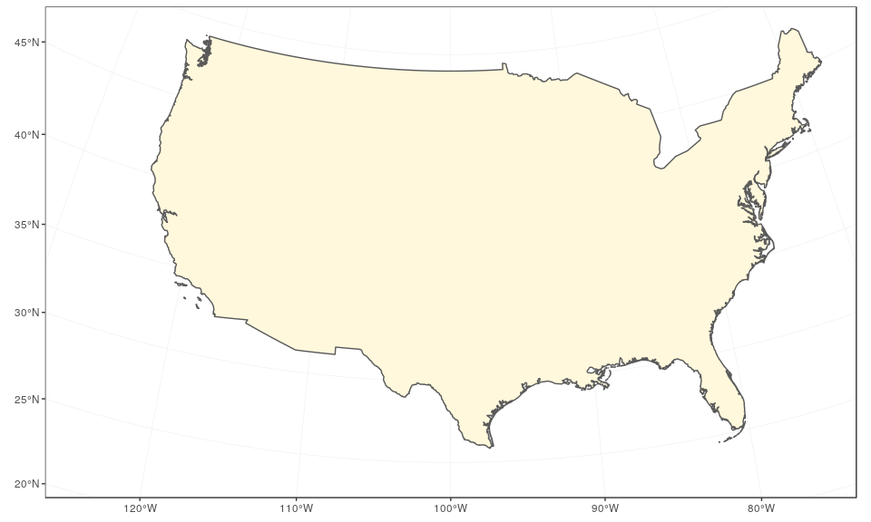 Drawing beautiful maps programmatically with R, sf and ggplot2
