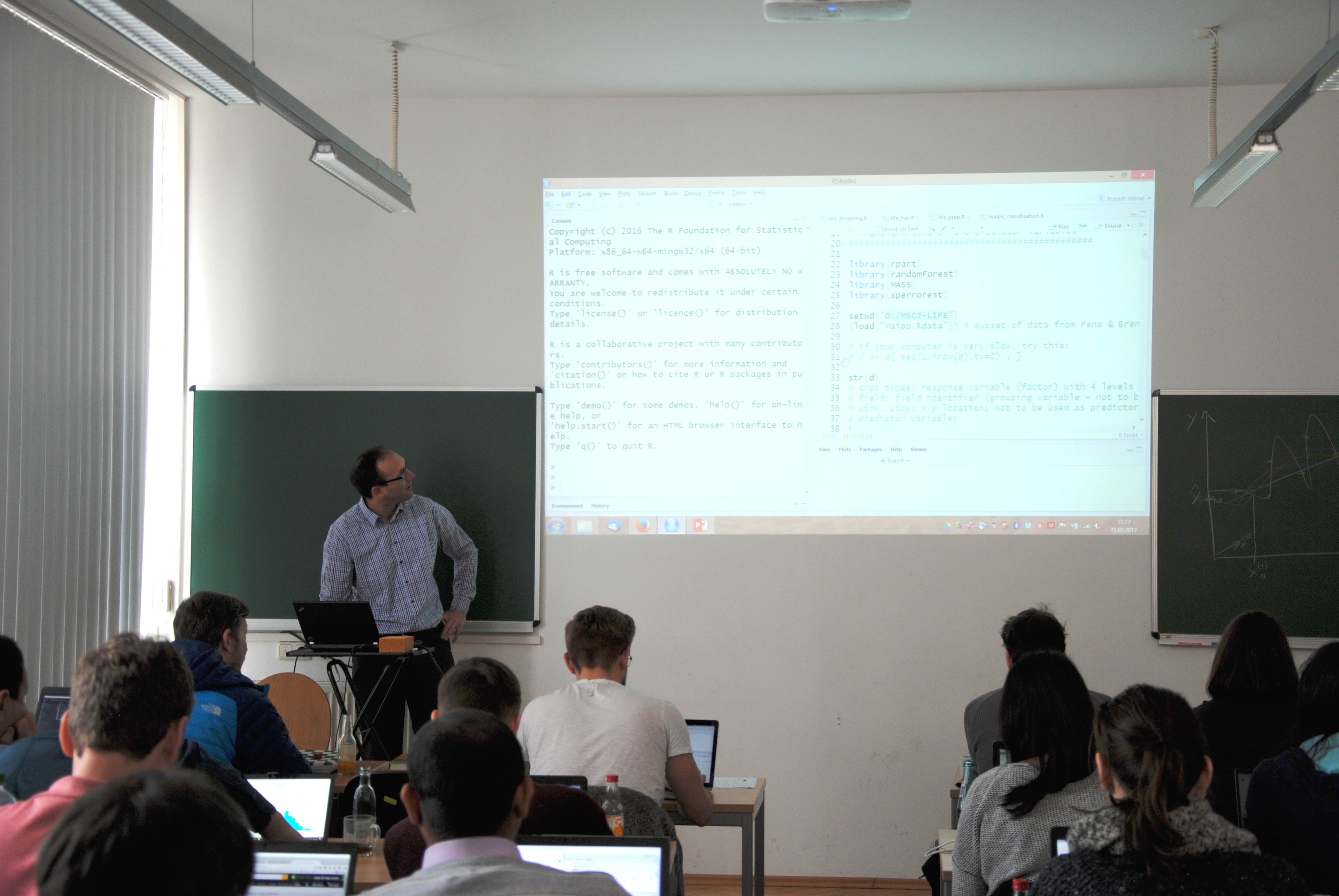 """Spring School on """"Statistical analysis of hyperspectral and"""